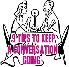 """9 Tips to Keep a Conversation Going --- As we all know by now, talking to a beautiful woman who you've never met before is one of the harder things you'll have to do. In fact, so much of your energy is put into trying to psyche yourself up to talk to her, that a lot of the time you get there with nothing to say, leaving nothing but awkward silence between you after your initial, """"Hi."""" #love #dating #magnetizewomen"""