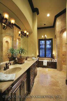nice 82 Luxurious Tuscan Bathroom Decor Ideas https://cooarchitecture.com/2017/04/06/82-luxurious-tuscan-bathroom-decor-ideas/