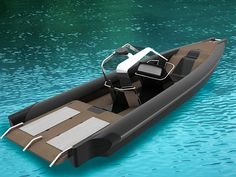 Boat Concept on Behance Yacht Design, Boat Design, Boat Upholstery, Rib Boat, Inflatable Boat, Boat Stuff, Power Boats, Model Ships, Boat Building