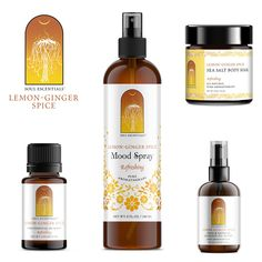 Lemon~Ginger Spice Collection | Pure Aromatherapy