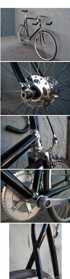 Beautiful, classy, elegant, impressive components... and weird twisted seat stays!