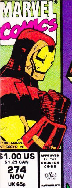 Marvel corner box art - Iron Man
