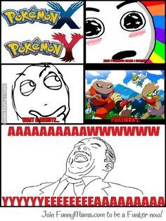 Pokemon Z!!!!!!!!! Jajajajaja