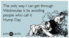 No hump day