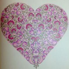 Secret Garden Johanna Basford Colored By Isabel Rivero Roch