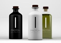 Proton Premium Extra Virgin Olive Oil on Packaging of the World - Creative Package Design Gallery