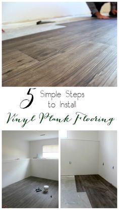 Installing Selfsticking Vinyl Plank Flooring Is A Relatively Easy - Preparing floor for vinyl plank flooring