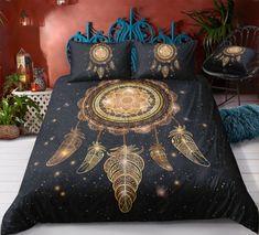 Bohemian | Bohemian Shrine Bohemian Bedding Sets, 3d Bedding Sets, Comforter Sets, Bohemian Bedrooms, Unique Bedding, Blanket Cover, Cotton Duvet, Duvet Cover Sets, Pillow Covers