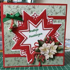Kerststerkaart 2