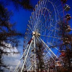Ferris Wheel VDNKH, Moscow.