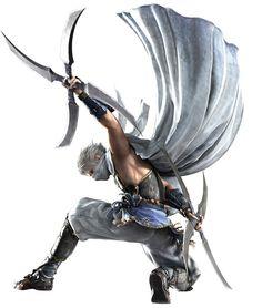 Final Fantasy IV (DS) -  Edge (Ninja)