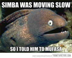 Hurry up, Simba…