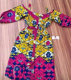 Ankara Dress styles to rock in 2019 – African fashion and life styles – African Fashion Dresses - African Styles for Ladies African Dresses For Kids, African Wear Dresses, African Fashion Ankara, Latest African Fashion Dresses, African Print Fashion, African Attire, African Prints, African Style, Kid Outfits