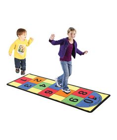 Love this Oversize Hopscotch Rug Set on #zulily! #zulilyfinds