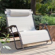Genial Coral Coast Zero Gravity Loveseat   Toffee   Outdoor Chaise Lounges At  Hayneedle