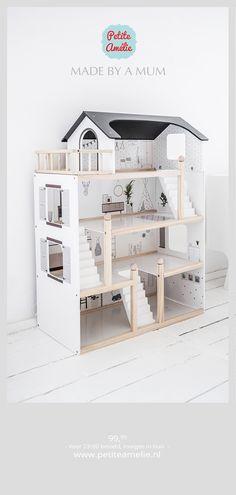 Girl Room, Girls Bedroom, Bedroom Decor, Wooden Dollhouse, Diy Dollhouse, Kids Doll House, Lego House, Miniature Houses, Diy For Kids