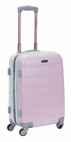 Luggage is the best think in travel. I have used many travel luggage some of good and some of comfortable and some of are not comfortable. Now I share some best travel luggage for travler. Cute Luggage, Best Carry On Luggage, Carry On Suitcase, Luggage Sets, Luggage Suitcase, Suit Cases Travel, Girls Luggage, Hard Sided Luggage, Rockland Luggage