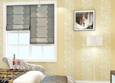 Low-key elegant non-woven wallpaper, better protection of the wall!