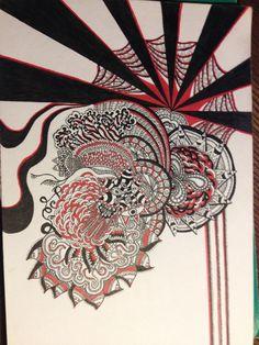 loqueras mías #ilustracion #dibujo #mandala #anaroman #mexico #garabatos