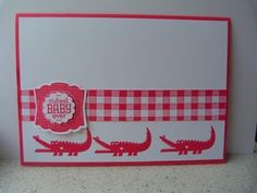 Zoo babies - Stampin' Up! party
