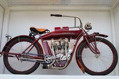 OldMotoDude: Indian Twin on display at the Barber Vintage Motor...