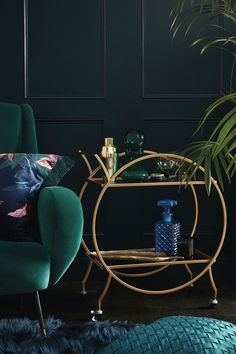 Primark launches a glamorous GOLD bar cart for autumn – and it's only