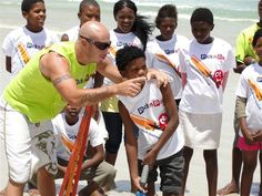 South African cricketing icon Herschelle Gibbs has been involved with Sporting Chance at the Pick n Pay Calypso Cricket Festival.    The opening batsman offered cricketing tips and shared many memorable moments with many of the children who were bussed in from impoverished areas.