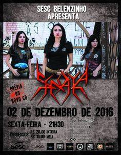 Força Metal BR: Sinaya: estreando músicas em show especial no SESC...