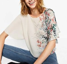 >> Click to Buy << 2017 New Fashion Women Vintage Flower Printed Patchwork Loose Blouses Shirts O neck Back Bow Tied Casual Feminine Blusa Tops #Affiliate