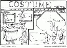 How to dress up in a Greek Chiton or a Roman Toga, also known as how to put on a costume without doing much sewing. Diy Fancy Dress Costumes, Diy Halloween Costumes, Costume Ideas, Homemade Fancy Dress Ideas, Greek Chiton, Roman Toga, Greek Dress, Toga Costume, Vbs Themes
