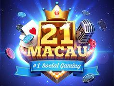 May logo for mobile social casino.