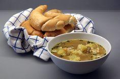 Bramborová polévka Cheeseburger Chowder, Soup, Soups