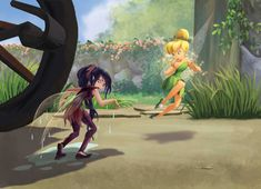 Concept art and behind the scenes of anything Disney Fairies related. All the art is official unless...