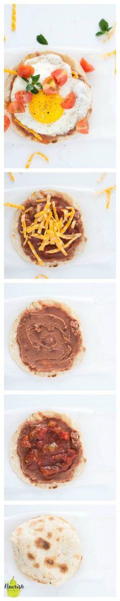 Easy Huevos Rancheros   delicious and quick brunch recipe