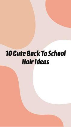 Cute Simple Hairstyles, Easy Hairstyles For Long Hair, Pretty Hairstyles, Braided Hairstyles, Hairdos, Summer Hairstyles, Medium Hair Styles, Curly Hair Styles, Cool Hair Designs