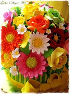 Mothers-Day-Cakes-And-Bakes-Decorating-Ideas-7 - family holiday.net/guide to family holidays on the internet