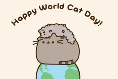 CAT FRIDAY: It's World Cat Day!