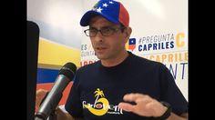 Henrique Capriles en Pregunta Capriles del Lunes 17 de Octubre de 2016. ...