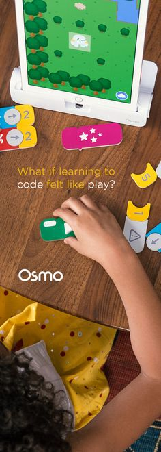 Introducing Osmo Coding: use hands-on blocks of code, and a fun adventure world to explore.   Osmo Coding is the easiest way to introduce coding to your child. Buy now for $49 with free shipping.