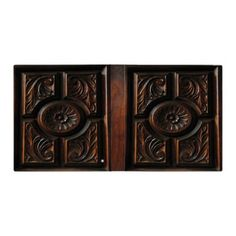 Wooden Carving 3 Ring Binders
