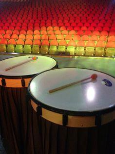 Percusión Teatro Nacional Casa de La Cultura Quito, Ecuador