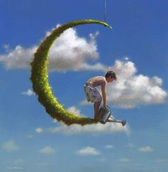 Fantasy world of Jimmy Lawlor Foto Effects, Jimmy Lawlor, Fantasy World, Fantasy Art, Illustrations, Illustration Art, Double Exposition, Surrealism Painting, Photo Journal