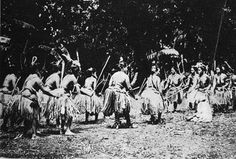Circle dance in the country of Palau.