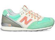 Groene New Balance schoenen 996