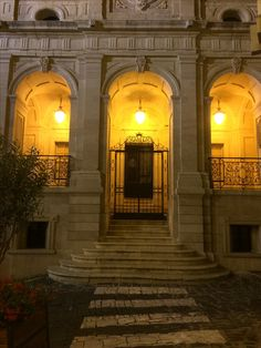 Mahón city hall, Menorca.