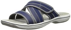 Clarks Womens Brinkley Arney Espadrille Sandal Navy 11 M US >>> This is an Amazon Affiliate link. Want to know more, click on the image.