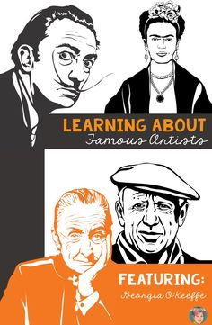 Learning about famous artists: featuring Georgia O'Keeffe. Lesson ideas, book…