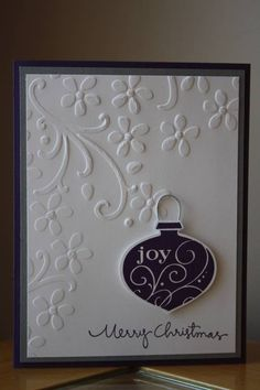 Simple Christmas by Trisha_Dawn - Cards and Paper Crafts at Splitcoaststampers