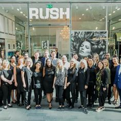 Rush opened their second flagship salon on August 1st 2015 at Westfield Stratford London.