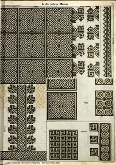 Hungarian Embroidery, Embroidery Motifs, Learn Embroidery, Machine Embroidery, Embroidery Designs, Antique Quilts, Pattern Books, Cross Stitching, Cross Stitch Patterns